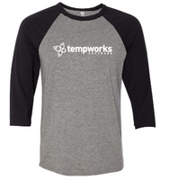 Tempworks Ringspun Three-Quarter Sleeve Baseball T-Shirt