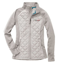 TempWorks Ladies Quilted Hybrid Jacket