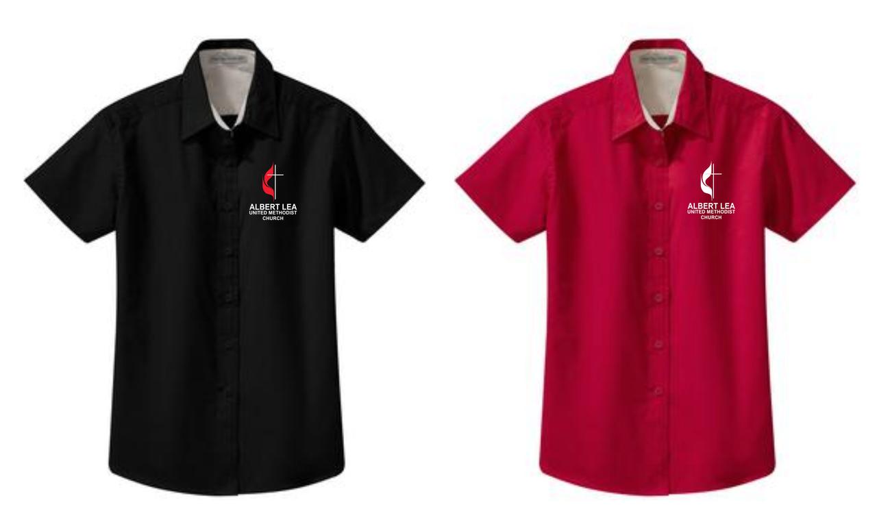 ffa55679 ... Port Authority® Ladies Short Sleeve Easy Care Shirt. Image 1. Image 1