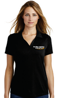 On-Site Lighting Ladies Tri-Blend Wicking Polo