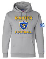 HHS Football Varsity Champion Double Dry Eco® Hooded Sweatshirt