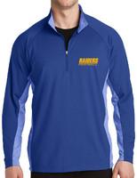 HHS Football Fan Sport-Wick® Stretch Contrast 1/2-Zip Pullover