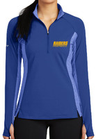 HHS Football Fan Ladies Sport-Wick® Stretch Contrast 1/2-Zip Pullover