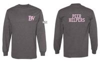 HHS Peer Helpers Cotton Long Sleeve Tee Shirt