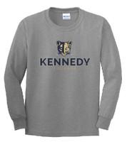 Kennedy Elementary Screen Printed Youth Long Sleeve Tee