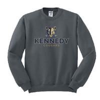 Kennedy Elementary Screen Printed Adult Crewneck Sweatshirt