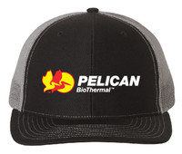 Pelican Embroidered Snapback Trucker Cap