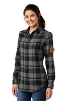 Branchline Ladies Plaid Flannel Tunic