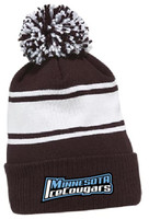 MNIC CCM Fleece Pom Knit Hat