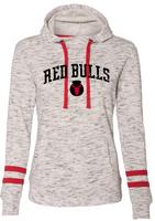 Red Bulls Women's Melange Fleece Hoodie
