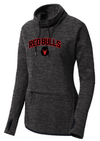 Red Bulls Cowl Neck Double Knit Technical Pullover