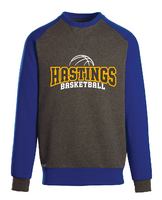 HHS Girls Basketball Fan - New Era® Unisex Vintage Raglan Crewneck Sweatshirt