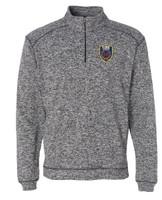 SBM Fire Corps Cosmic Fleece 1/4 Zip Pullover Sweatshirt