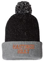 Hastings Heat Knit Speckled Pom-Pom Beanie