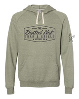 Busted Nut Snow Heather French Terry Hoodie