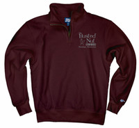 Busted Nut 1/4 Zip Fleece Pullover