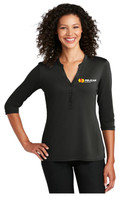 Pelican Ladies UV Choice Pique Henley