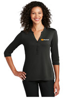 Pelican CA Ladies UV Choice Pique Henley