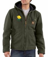 Cole Carhartt Sandstone Sierra Sherpa Lined Jacket