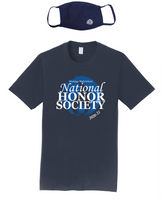 HHS NHS 2020-21 Member Tee & Mask Combo