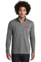 STS Unisex Tri-Blend Wicking 1/4-Zip Pullover