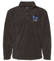 THIS OLD HORSE MENS FROSTY SHERPA 1/4 ZIP