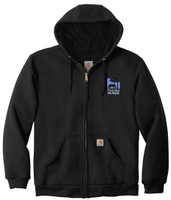 THIS OLD HORSE Carhartt ® Thermal-Lined Hooded Zip-Front Sweatshirt