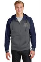 Kennedy Elementary Sport-Wick® Varsity Fleece Full-Zip Hooded Jacket