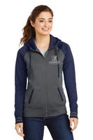 Kennedy Elementary Ladies Sport-Wick® Varsity Fleece Full-Zip Hooded Jacket