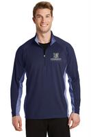 Kennedy Elementary Sport-Wick® Stretch Contrast 1/2-Zip Pullover