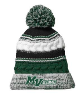 MV Ultimate Sport Tek Knit Pom Pom Hat