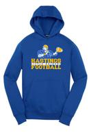 Little Raiders Football Hoodie