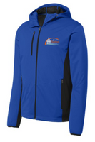 City of Hastings Active Hooded Soft Shell Jacket