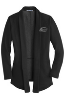 City of Hastings Ladies Interlock Cardigan
