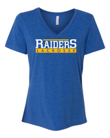Hastings Lacrosse Ladies V-Neck Tee