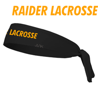 HHS Girls LAX  Performance Tie Head Band