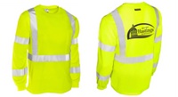 City of Hastings  Kishigo High Performance High Vis Long Sleeve Shirt