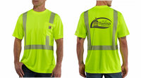 City of Hastings  Carhartt High Vis Short Sleeve Tee