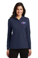 Tonna   Ladies Long Sleeve Silk Touch™ Polo