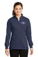 Tonna Ladies 1/4-Zip Sweatshirt