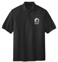 This Little Horse Short Sleeve Polo-Black