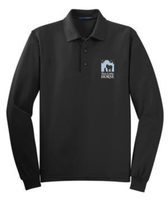 This Little Horse Long Sleeve Polo-Black