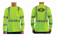Tonna Carhartt High Vis Long Sleeve Tee