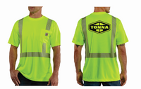 Tonna Carhartt High Vis Short Sleeve Tee