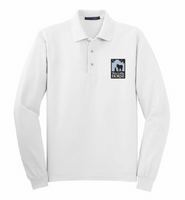 This Little Horse Long Sleeve Polo-White