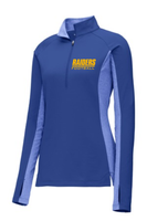 HHS Football Fan Ladies Sport-Wick Stretch Contrast 1/2-Zip Pullover