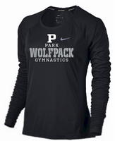 PHS Gymnastics Ladies Nike Dri-Fit Long Sleeve Tee