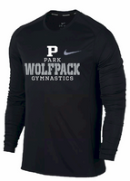 PHS Gymnastics Nike Dri-Fit Long Sleeve Tee