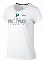 PHS Gymnastics Ladies Nike Dri-Fit Short Sleeve Tee