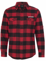 TempWorks Software Long Sleeve Flannel Shirt